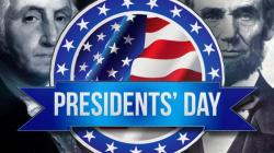 The image for President's Day